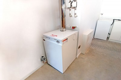 System Diesel Boiler in Garage