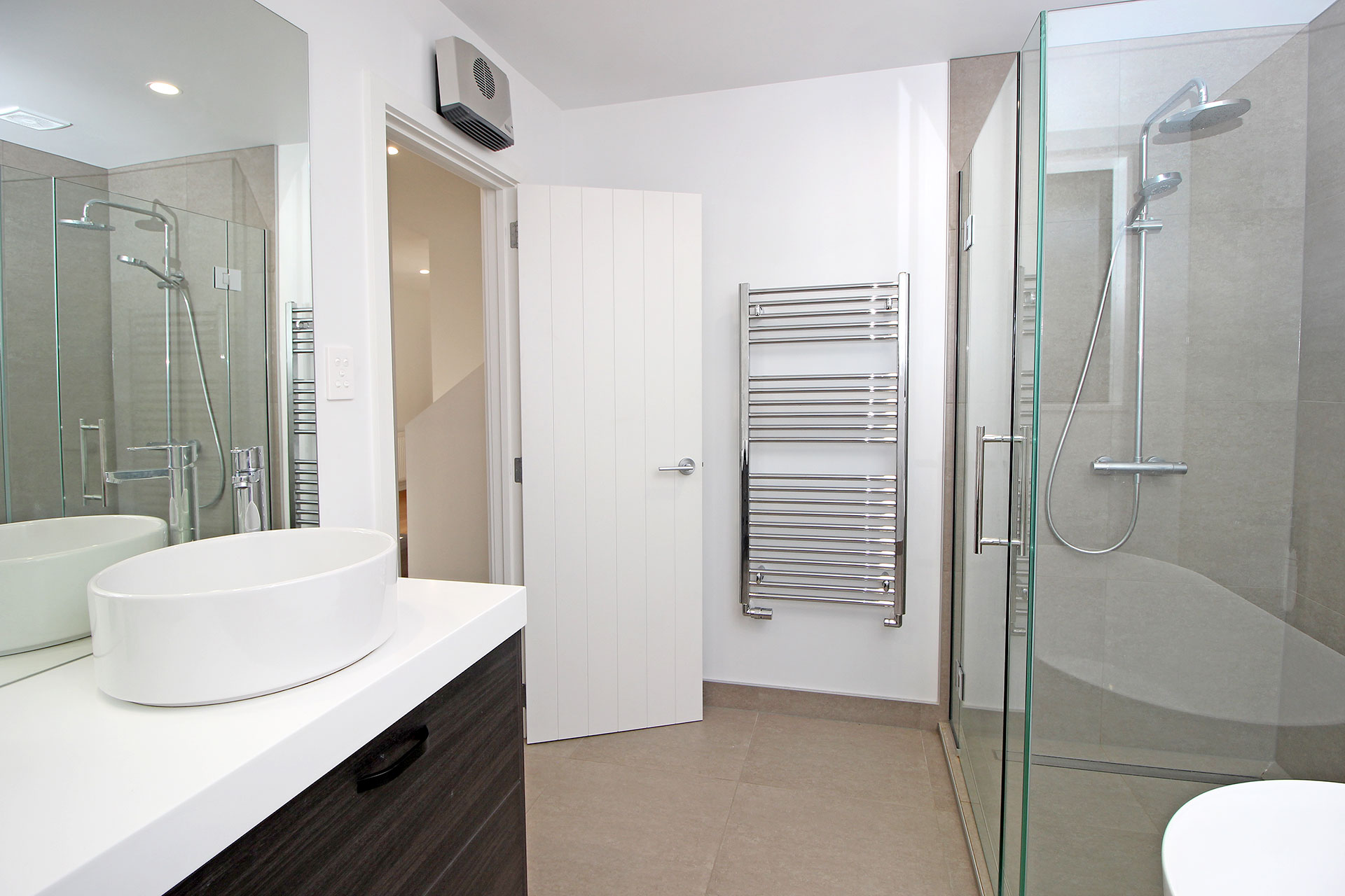 Heating Modern Revamp Build Bathroom Towel Rail Richmond